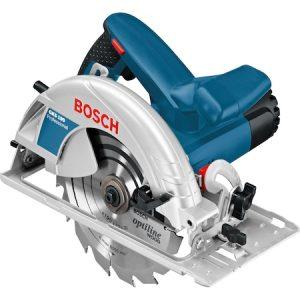 Fierastrau circular Bosch Professional GKS 190, 1400 W, 5500 RPM, 190 mm diametru panza, accesorii incluse