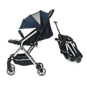 Carucior Sport U-Grow Baby Ride, Albastru