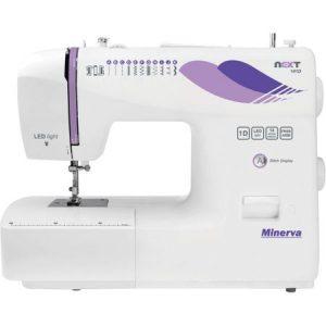 Masina de cusut Minerva Next141D, 14 programe, 850 imp/min, Alb