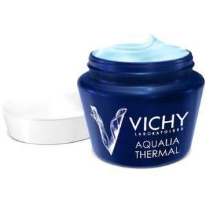 Gel hidratant de noapte Vichy Aqualia Thermal SPA, 75 ml
