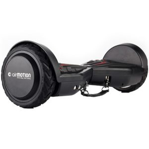 Cele mai bune hoverboarduri Hoverboard AirMotion H1 Black 6,5 inch, Viteza max. 10 km/ora, Autonomie 12-18 km, Putere motor 2 x 200W, Samsung Li-Ion 23V, 4.3AH