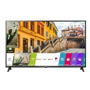 Televizor LED Smart LG, 108 cm, 43UK6200PLA, 4K Ultra HD, Clasa A