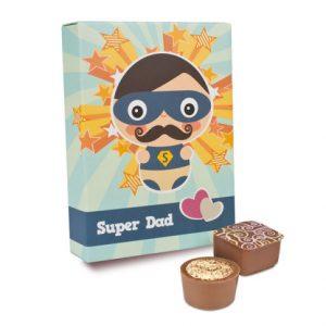 Super bomboane rafinate pentru Super Dad