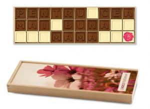 ciocolata cadou personalizat pentru mama