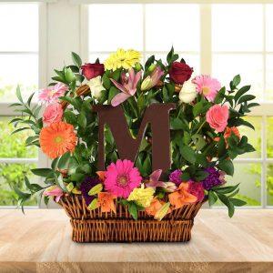 cadou pt mama cos de flori