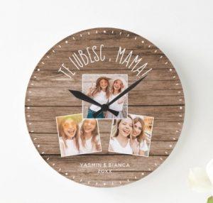 ceas de perete cadou pentru mama