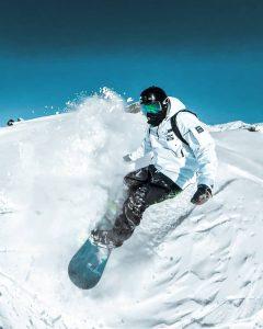 cadou pentru el snowboard