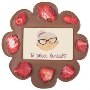 Cadou personalizat din ciocolată pentru o bunică mereu dulce cu nepoții!