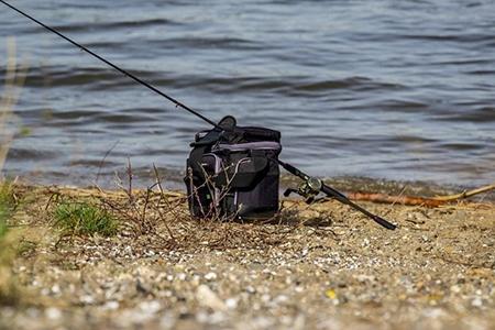 Husă-rucsac pentru pescuit pentru un bunic pescar