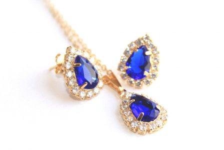 Lănțișor cu pandantiv din aur și diamante pentru o sărbătorită cu adevărat specială