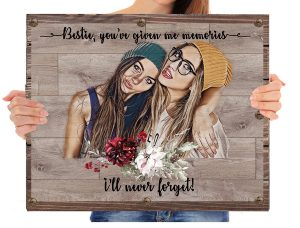 cadou cea mai bună prietena teblu personalizat