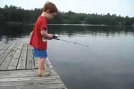 idei cadouri baieți lansetă pescuit
