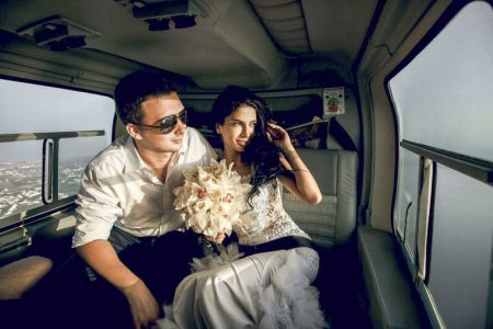 idei cadouri nunta zbor cu elicopterul